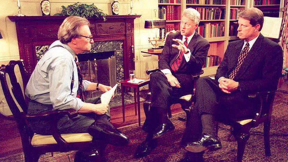 Bil Klinton i Al Gor