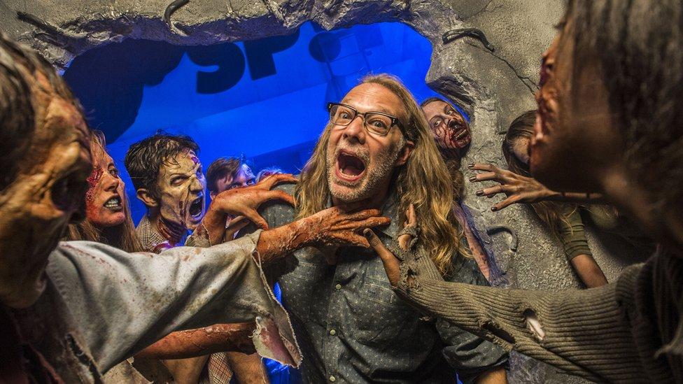 Horror make-up artist and director Greg Nicotero