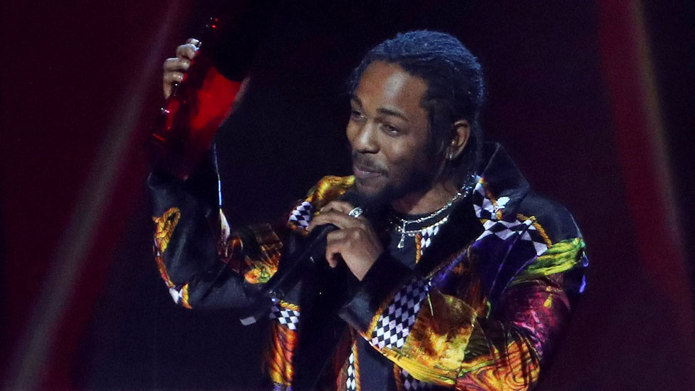 BBC News - Brit Awards 2018: Kendrick Lamar's drug and sex references were muted by ITV