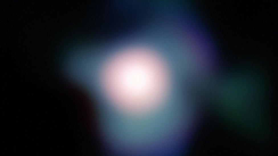 Telescope photo of Betelgeuse