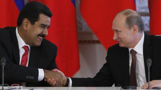 Maduro y Putin