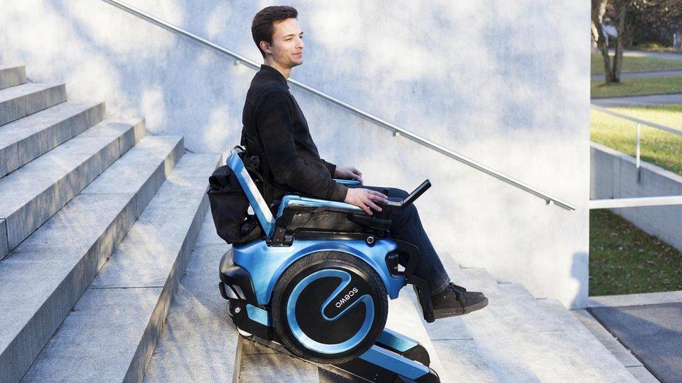 La silla Scewo pretende revolucionar la vida de muchas personas con discapacidad. (Foto: Scewo).