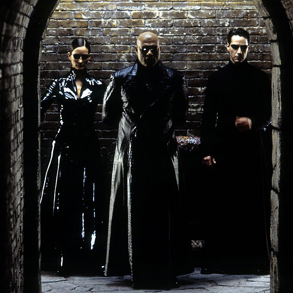 Cena do filme 'Matrix'
