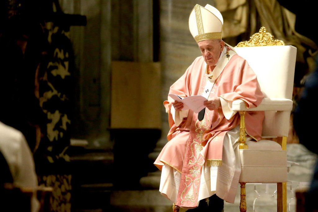 In 2013 Pope Francis famously broke with doctrinal tradition, saying