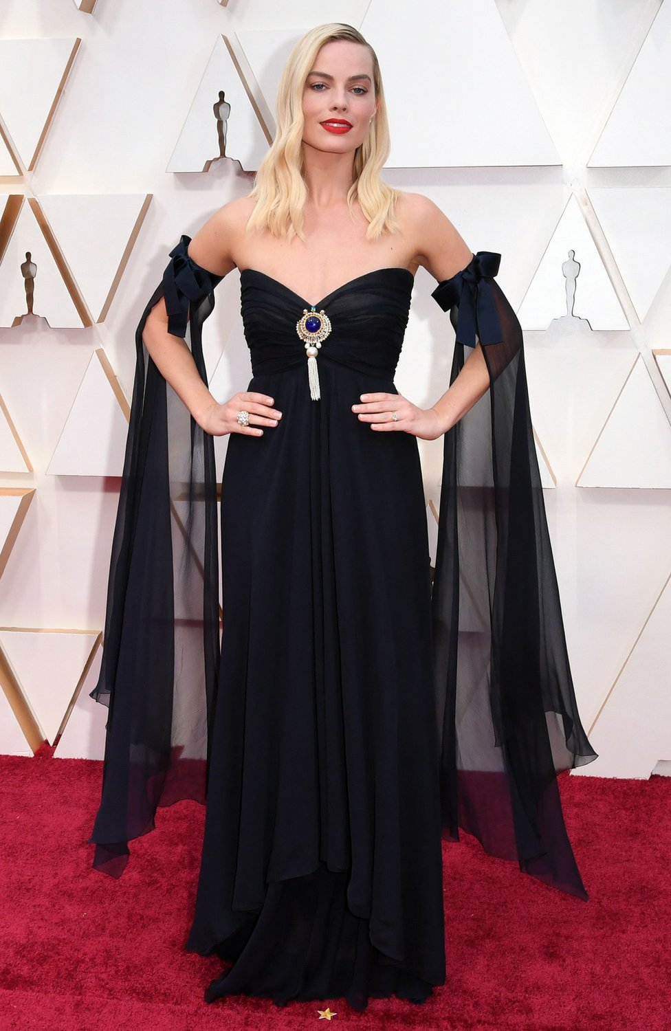 Margot Robbie on the red carpet