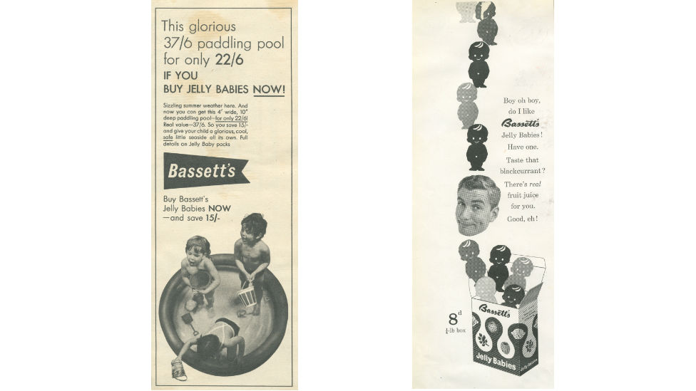 Jelly Baby adverts from the 50s