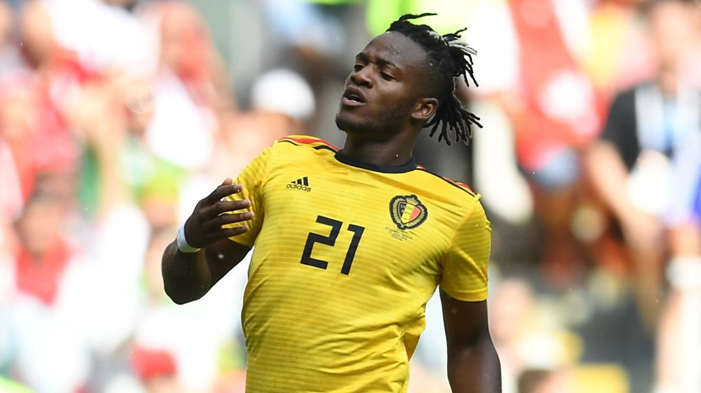 World Cup 2018: Watch Michy Batshuayi's incredible miss for Belgium v Tunisia