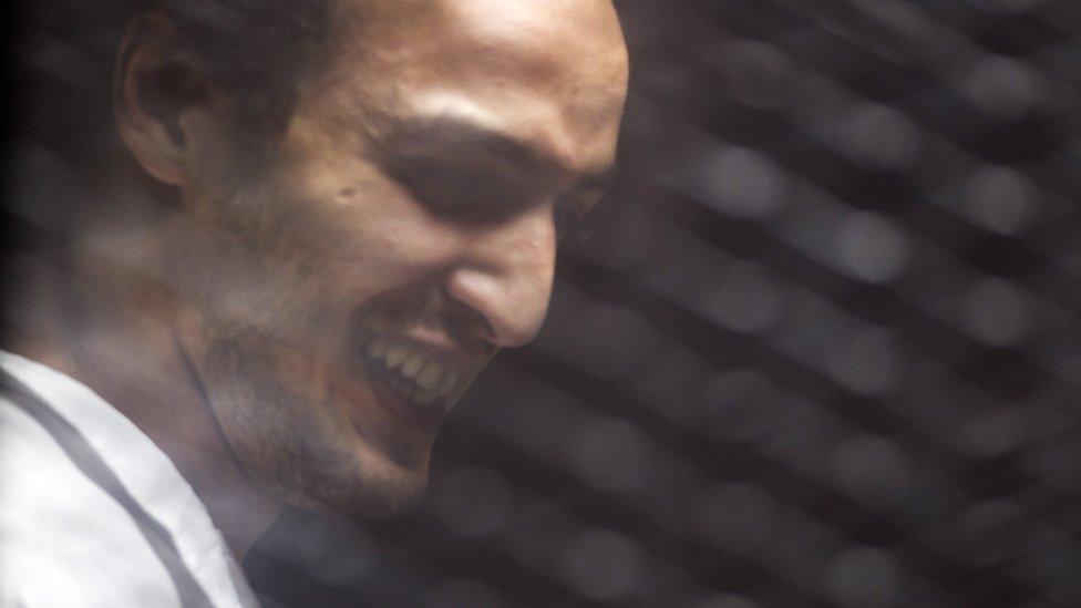 """الصحفي محمود أبوزيد الشهير بـ""""شوكان"""""""
