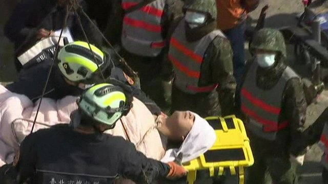 Man rescued in Taiwan