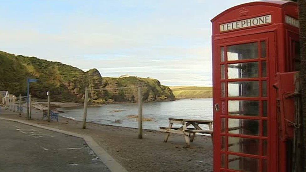 The 1983 film made a red phone box in the Aberdeenshire village of Pennan famous