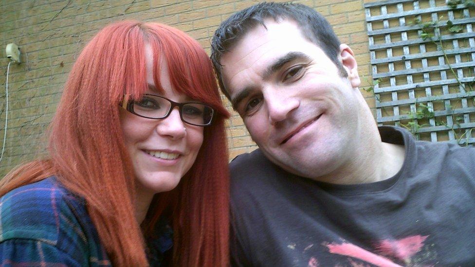 Megan Davison and boyfriend Andy