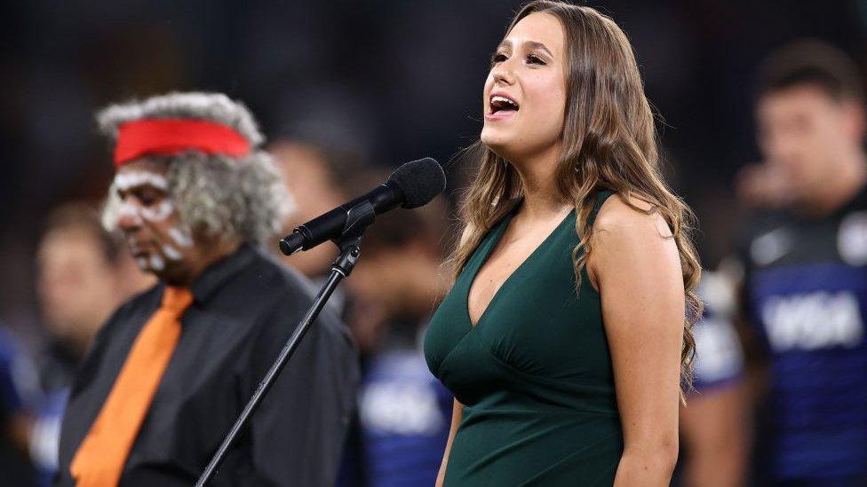 Australia changes national anthem to reflect indigenous past thumbnail