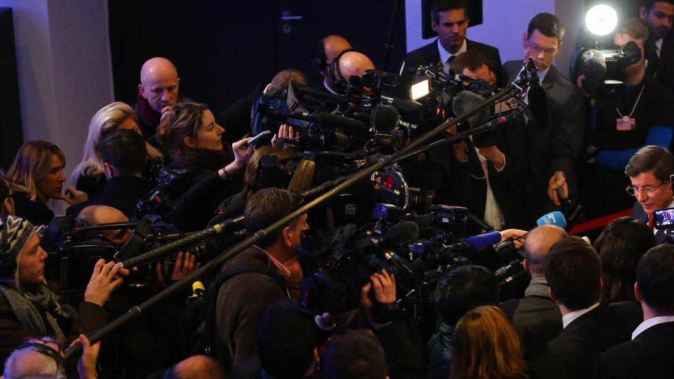 Davos, 21. januar 2016.