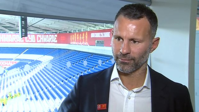 Former Manchester United and Wales winger Ryan Giggs