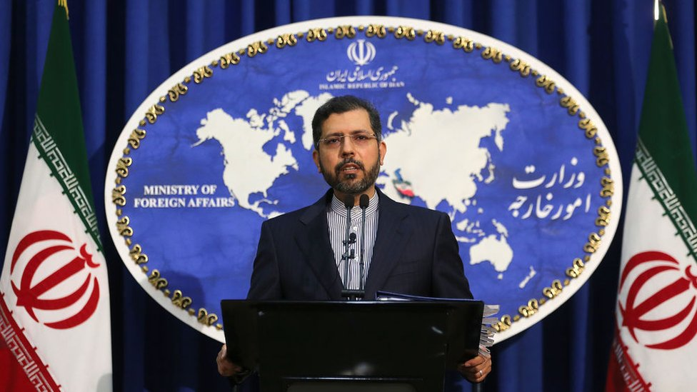 المتحدث باسم وزارة الخارجية الإيرانية سعيد خطيب زاده