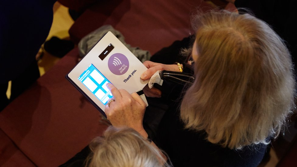 'Let us pay' - Rotherham church tries contactless