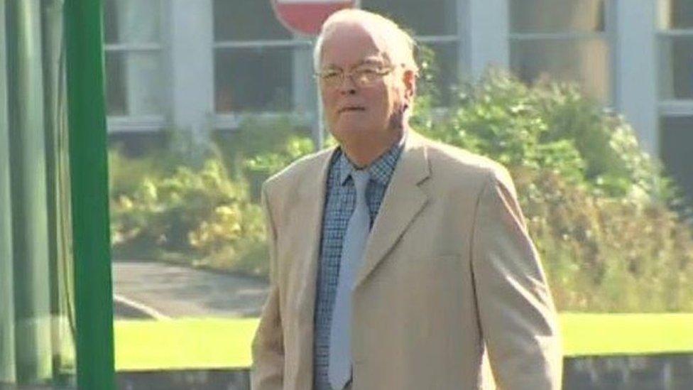 Ex-police chief Gordon Anglesea