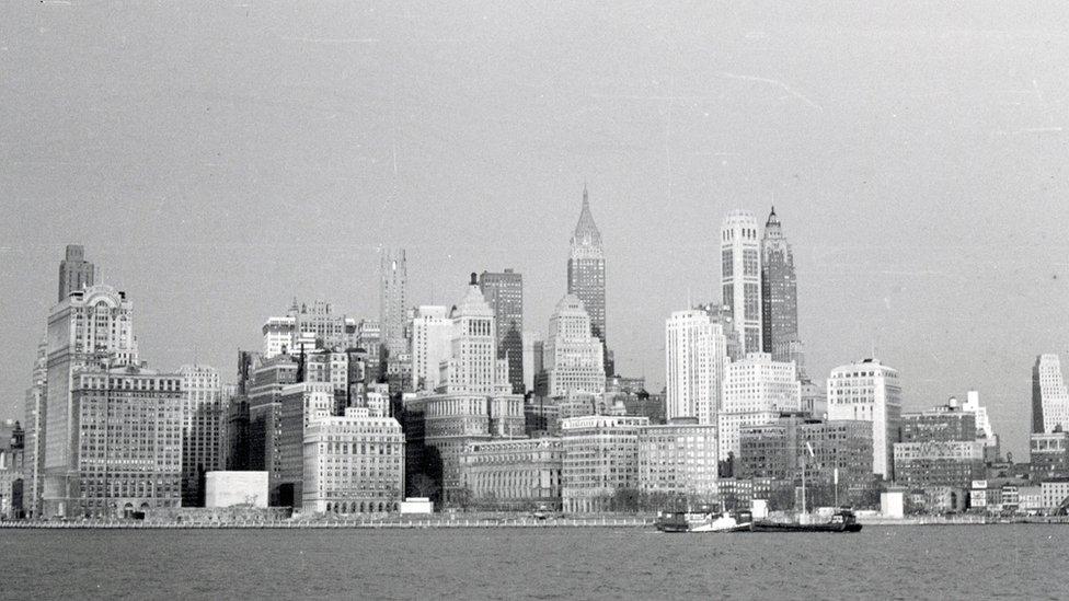 Nueva York en los años 50.