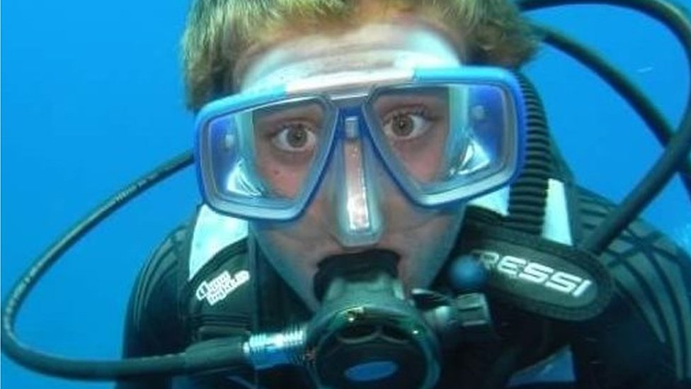 The scuba dive that crushed my spine
