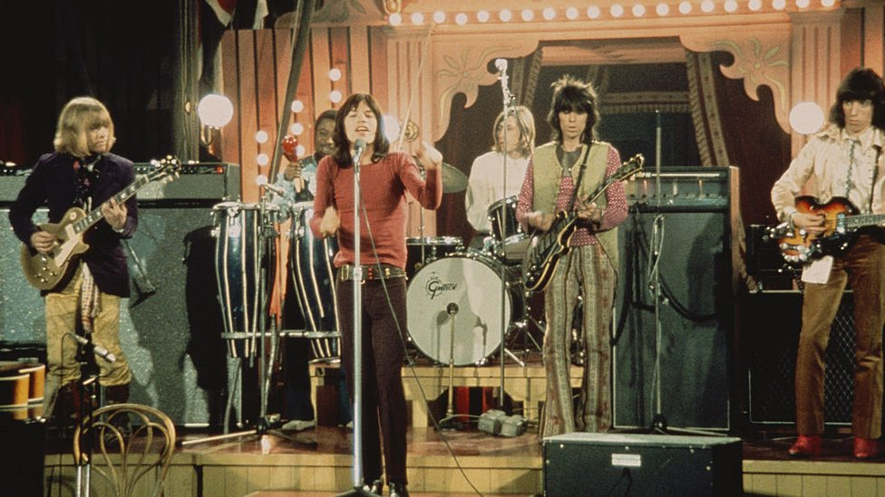 Rolling Stones at 1968's Rock and Roll circus