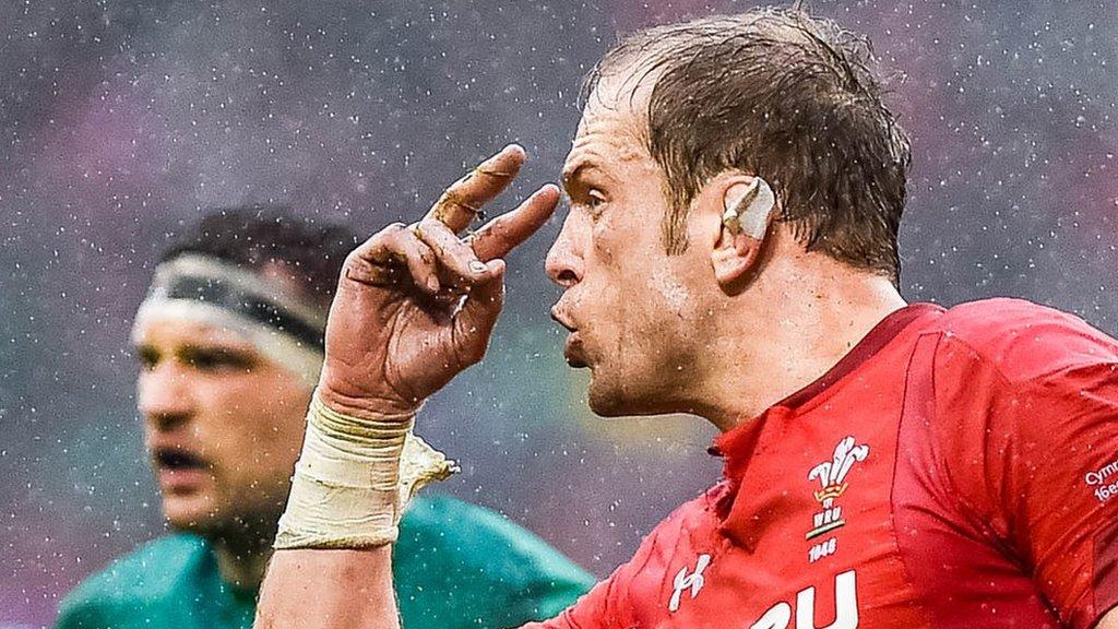 Alun Wyn Jones: Wales' legendary leader & player of the 2019 Six Nations