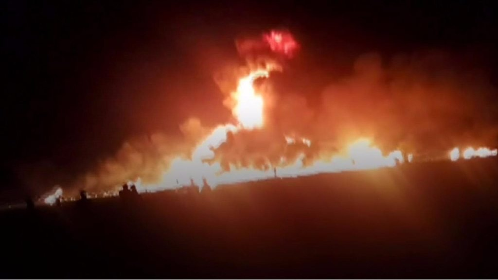 Mexico pipeline explosion kills and injures dozens
