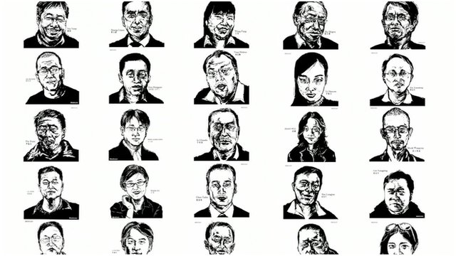 Some of the lawyers arrested during China's crackdown