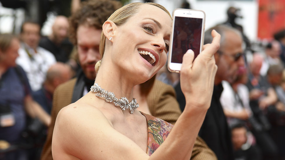 Amber Valletta at the 2017 Cannes Film Festival