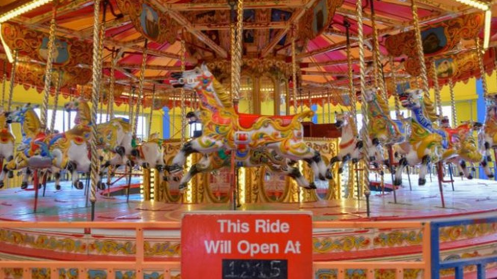 Pleasure Island carousel sold to private buyer after auction bid error