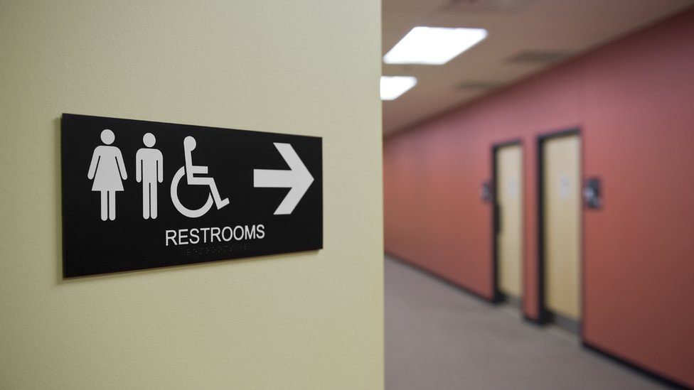 Transgender people in North Carolina must use restrooms that match the gender listed on their on their birth certificate