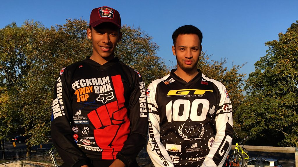 BMX brothers Tre and Kye Whyte are aiming for Olympic glory
