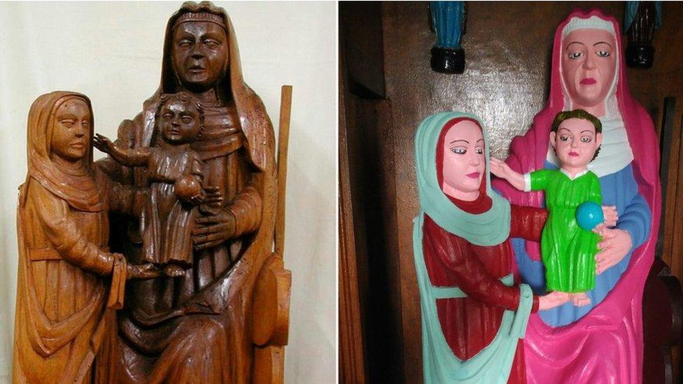 Španska monahinja restaurirala crkvene statue na svoj način