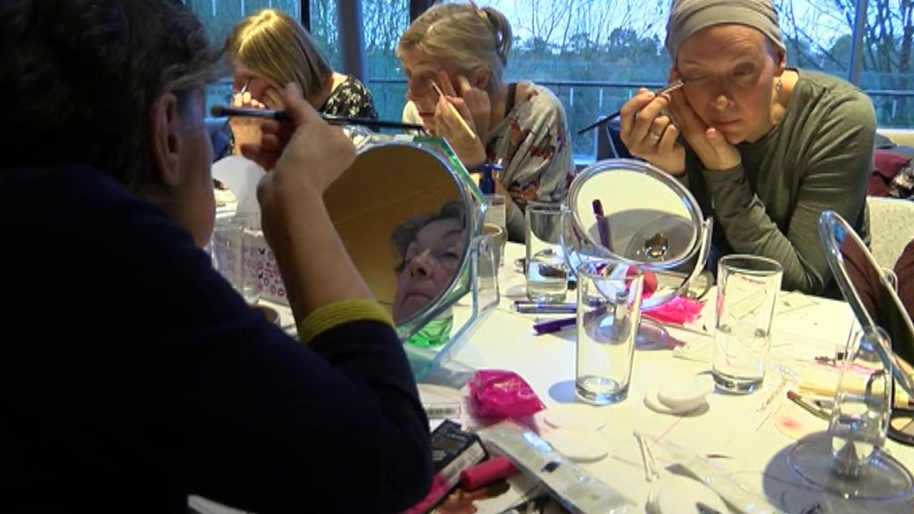 'Make-up lessons remind me I'm a person'