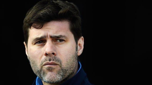 Tottenham head coach Mauricio Pochettino