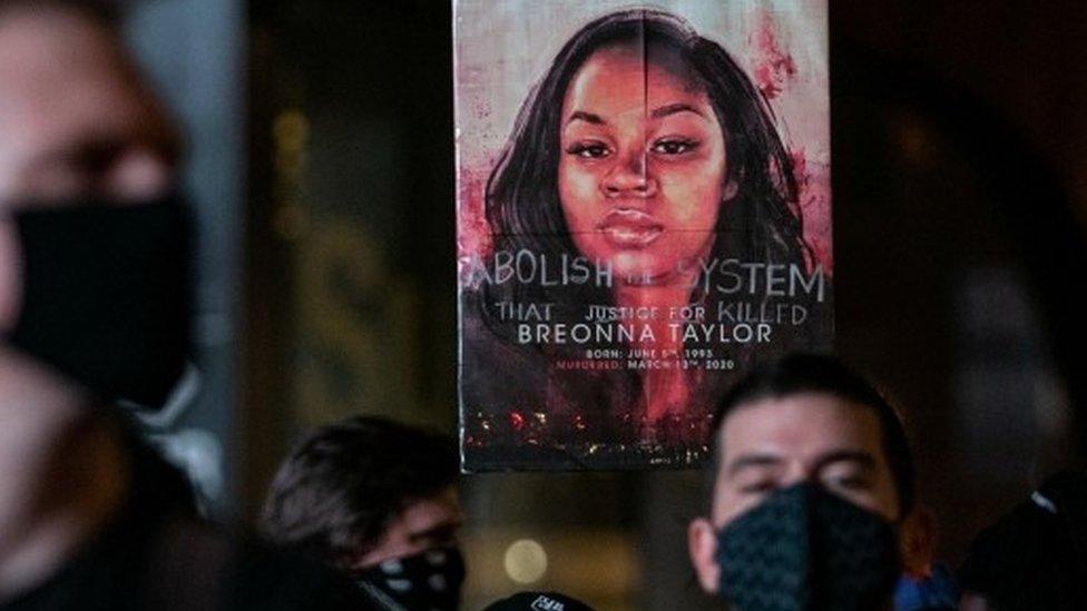Breonna Taylor protest in NY