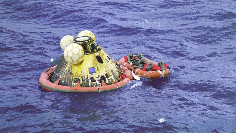 astronotları geri getiren kapsül