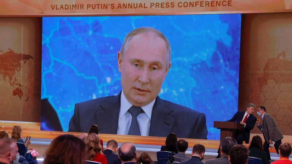Ежегодная пресс-конференция Президента Путина, 17 декабря 20 г.