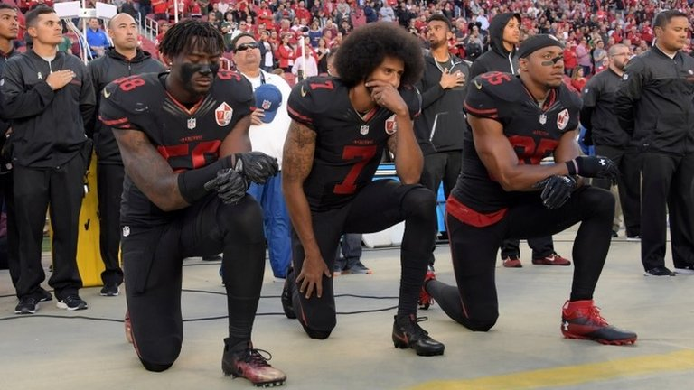 NFL clubs to be fined if players kneel during anthem