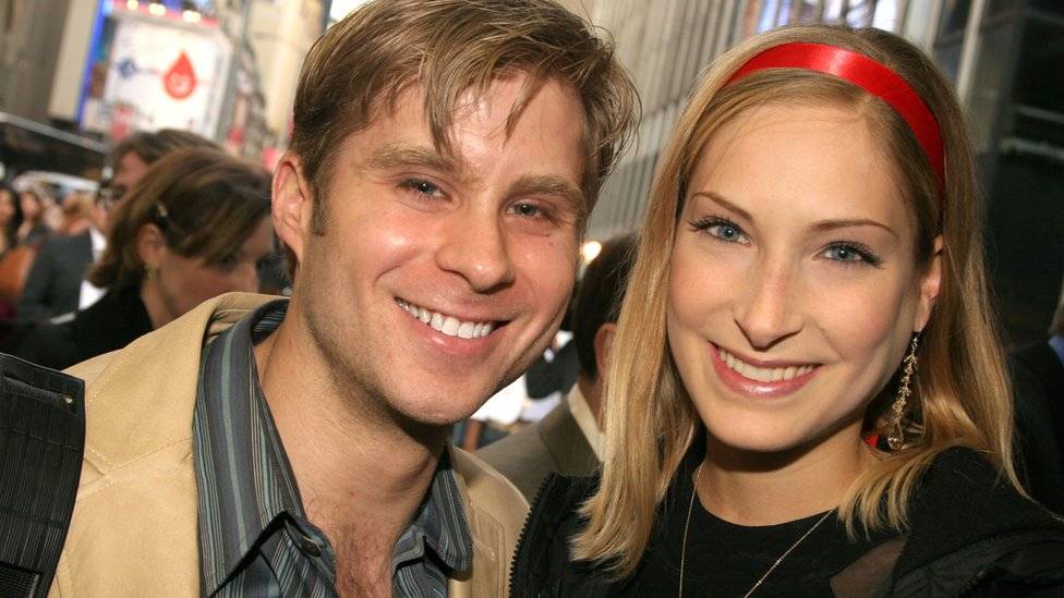 Catherine Wreford y Craig Ramsay, en 2005
