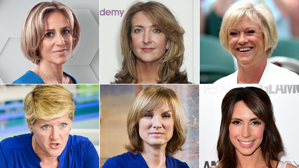 Female Stars Call On Bbc To Sort Gender Pay Gap Now Bbc News