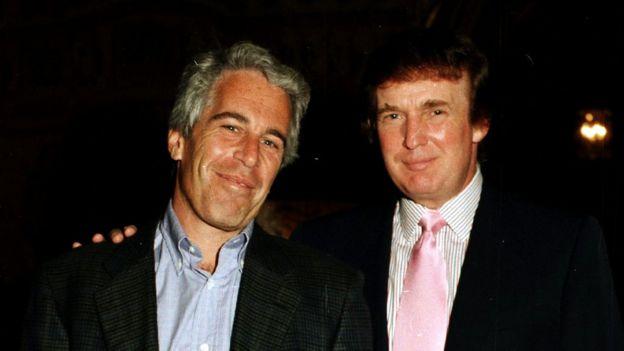 Jeffrey Espstein and Donald Trump