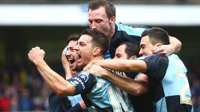 Wycombe Wanderers 1-1 Aston Villa highlights