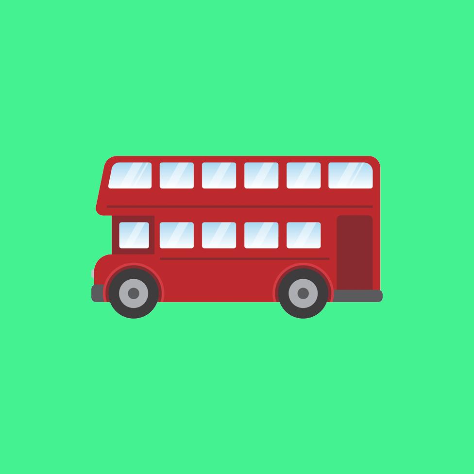 倫敦公交紅色雙層巴士