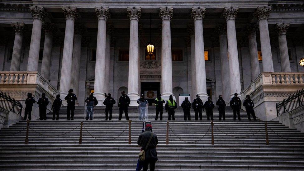 Policía del Capitolio.