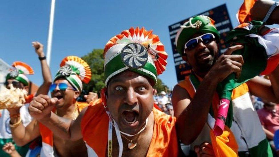 भारत-पाक मैच प्रेमी और समर्थक