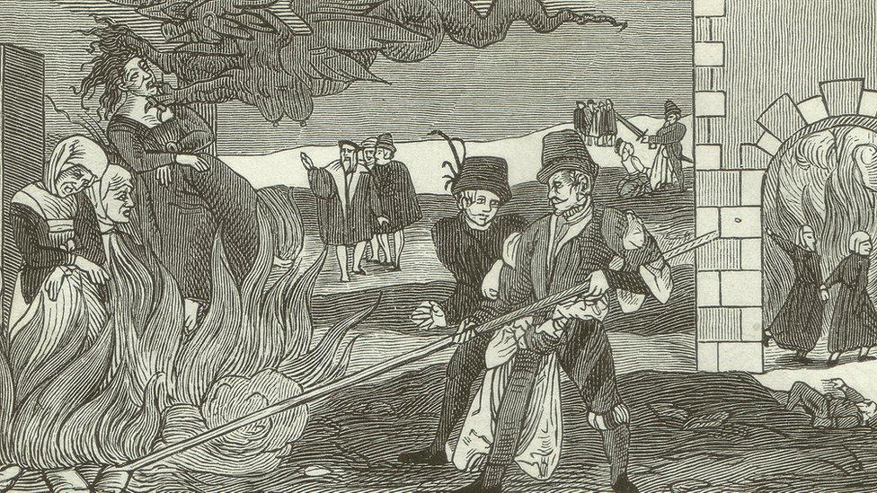 Ilustración brujería