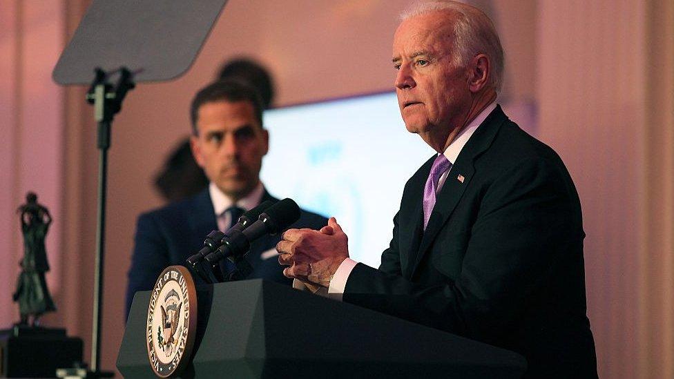 Hunter Biden Republicans Release Report On Joe Biden S Son Bbc News