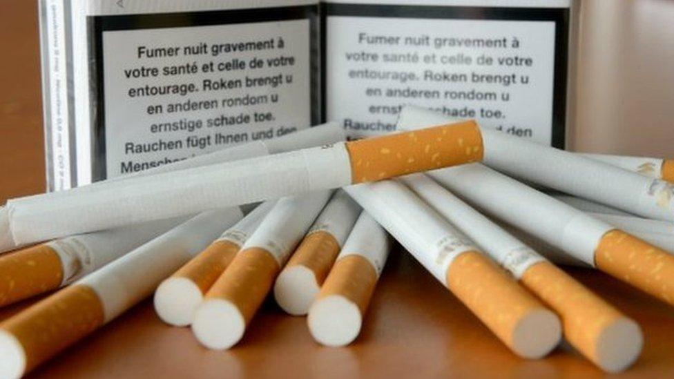 Cigarrillos franceses