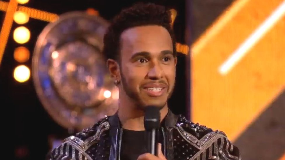 Sports Personality 2018: Lewis Hamilton 'used wrong words'