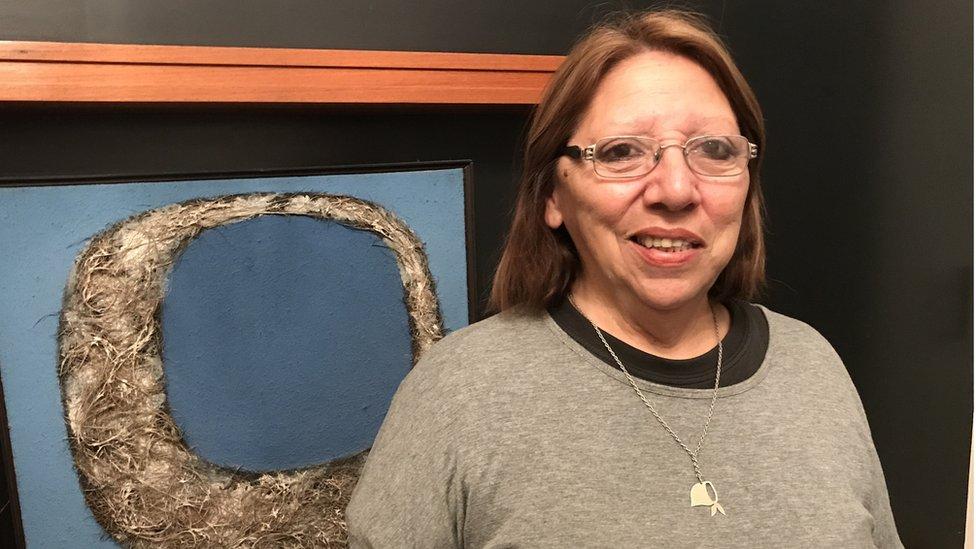 Delia Barrera, sobreviviente del circuito ABO
